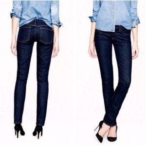 J Crew Matchstick stretch jeans dark wash size 25